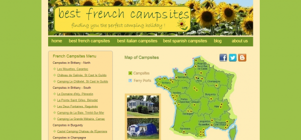 Best French Campsites French Campsites