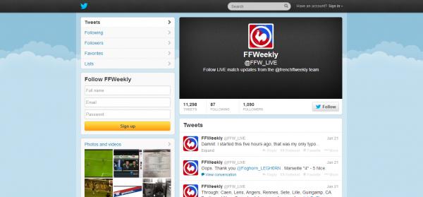 FFWeekly FFW_LIVE on Twitter