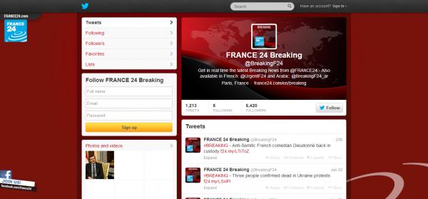 FRANCE 24 Breaking BreakingF24 on Twitter