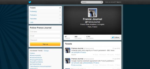 France Journal FranceJournal on Twitter