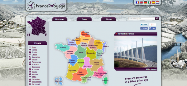France Voyage Tourism Guide and Holiday Information