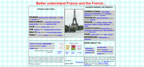 The Franco American WebSite intercultural tips for americans about France and Paris France and the French French culture understanding France and the French