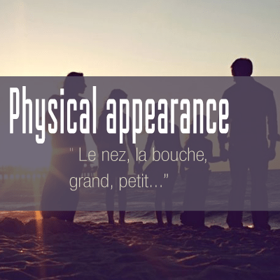 physical-appearence-vocab-french