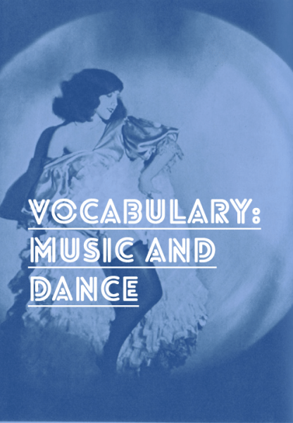french vocab music dance
