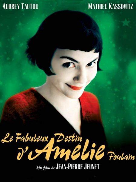 Le Fabuleux destin d'Amelie Poulain (The FabulousDestiny of Amélie Poulain) - Directed by Jean-Pierre Jeunet