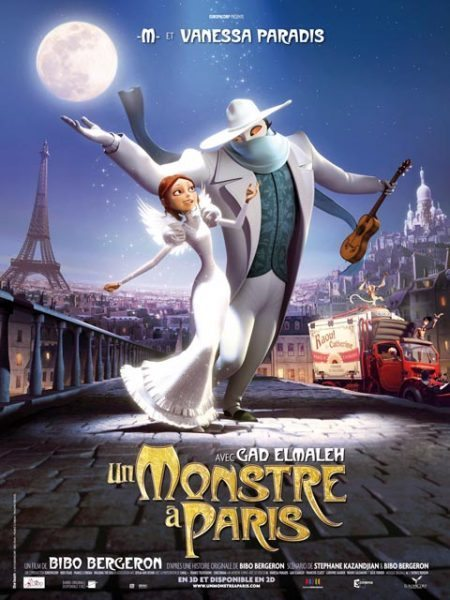 Un Monstre à Paris (A monster in Paris) - Directed by Bibo Bergeron