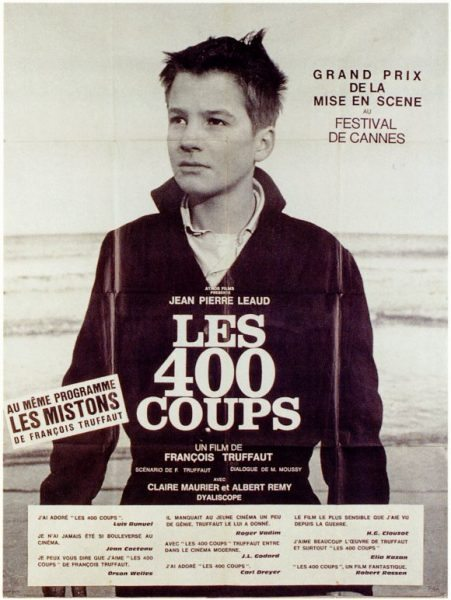30 french movies to watch april edition - Les quatre cents coups film ...