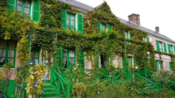 P1080447 France, Giverny, maison de Claude Monet où il vécut pendant quarante-trois ans, de 1883 à 1926