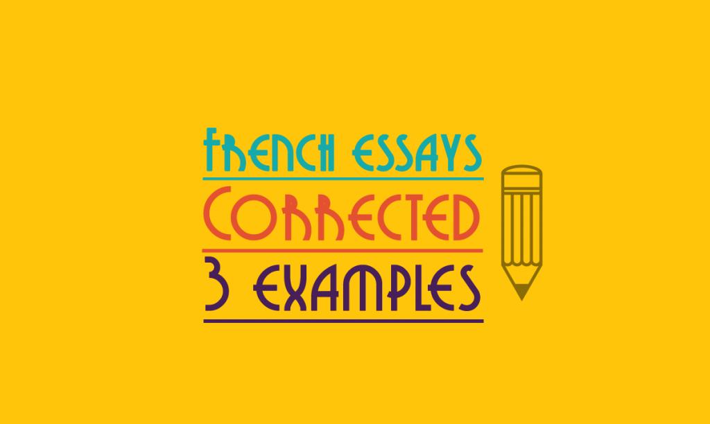 Write my french gcse essays