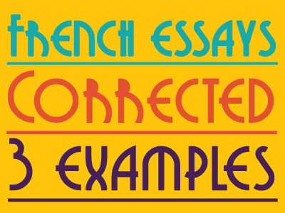 french essay phrases literature