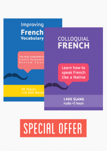 The most comprehensive French Vocabulary Package