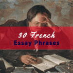 French essay help