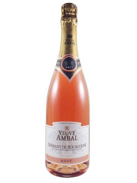 Cremant de Bourgogne, Grande Cuvee Rosé, Veuve Ambal