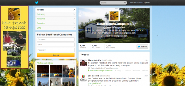 BestFrenchCampsites FrenchCampsites on Twitter