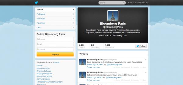 Bloomberg Paris BloombergParis on Twitter