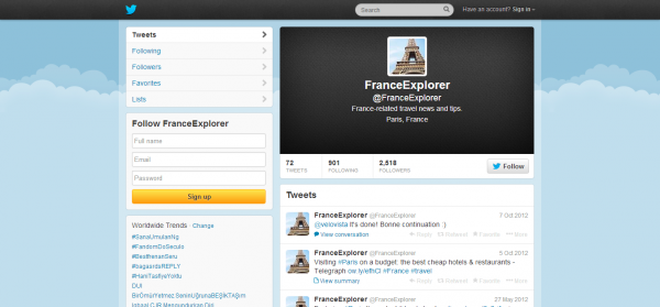 FranceExplorer FranceExplorer on Twitter