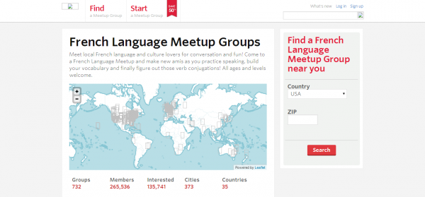 French Language Meetup Groups Meetup