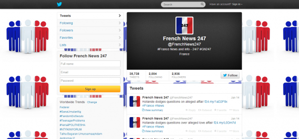 French News 247 FrenchNews247 on Twitter
