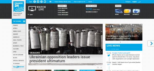 International breaking news and headlines France 24