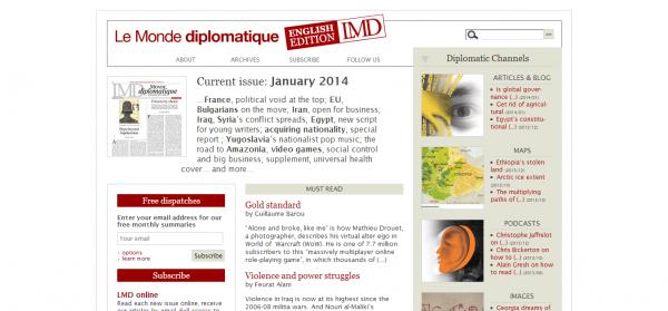 Le Monde diplomatique English edition