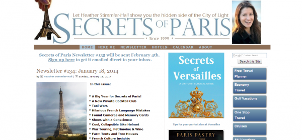 Secrets of Paris Travel Planning and Private Tours