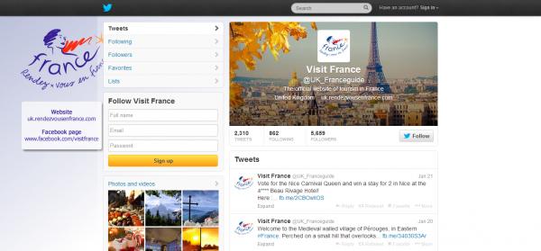 Visit France UK_Franceguide on Twitter