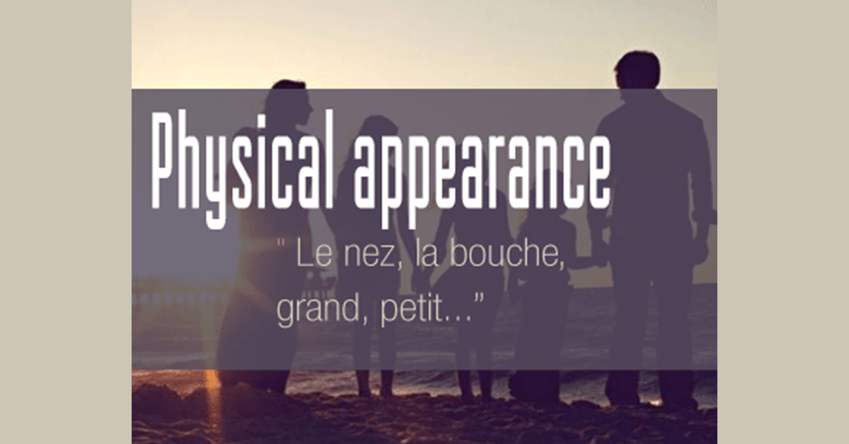 descriptive words for physical appearance