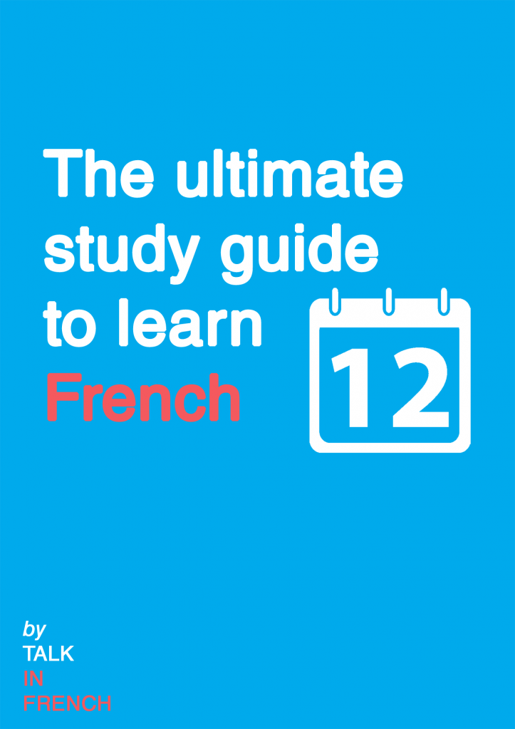 Study-guide-for-french-by-Talk-in-French