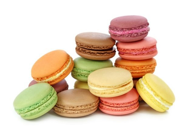 Famous French macarons