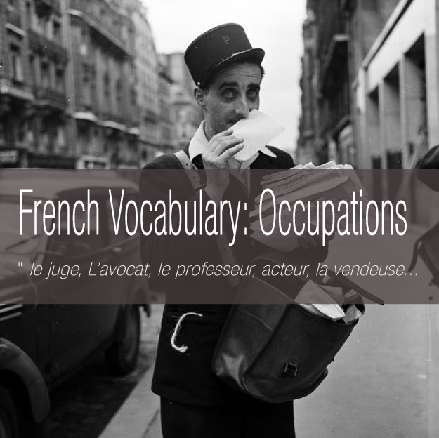 French-Vocabulary-Occupations