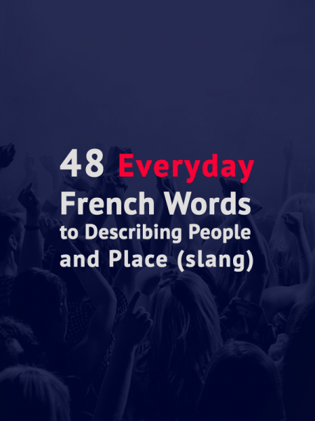 Learn french words everyday