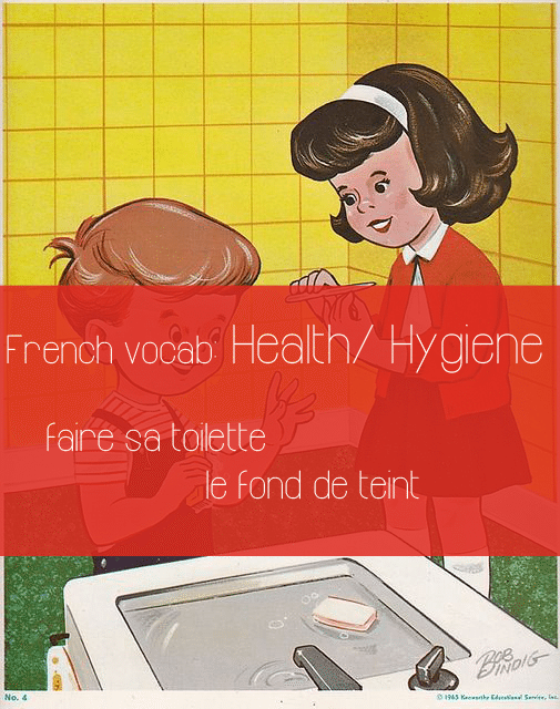 french-vocab-health-hygiene-