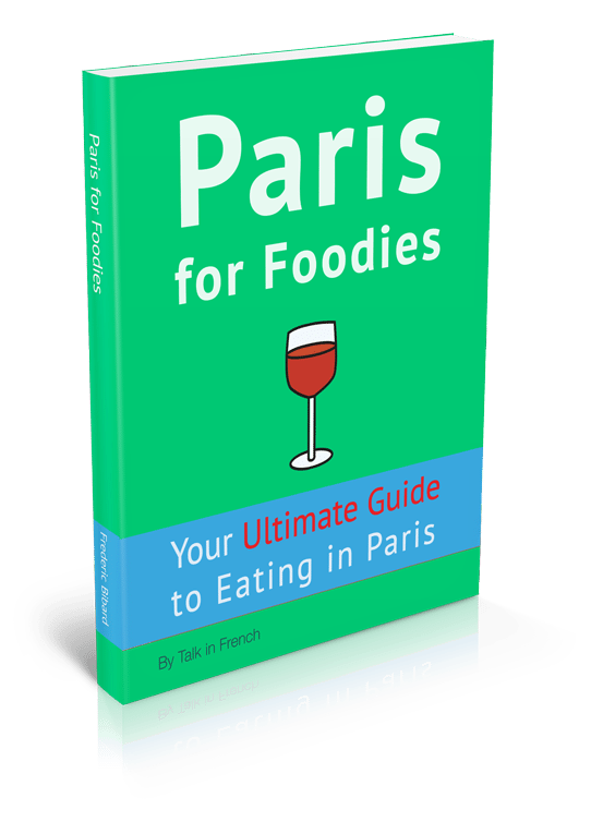 Paris for Foodies book