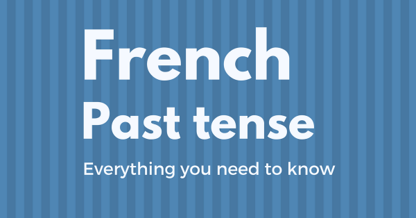 french past tense