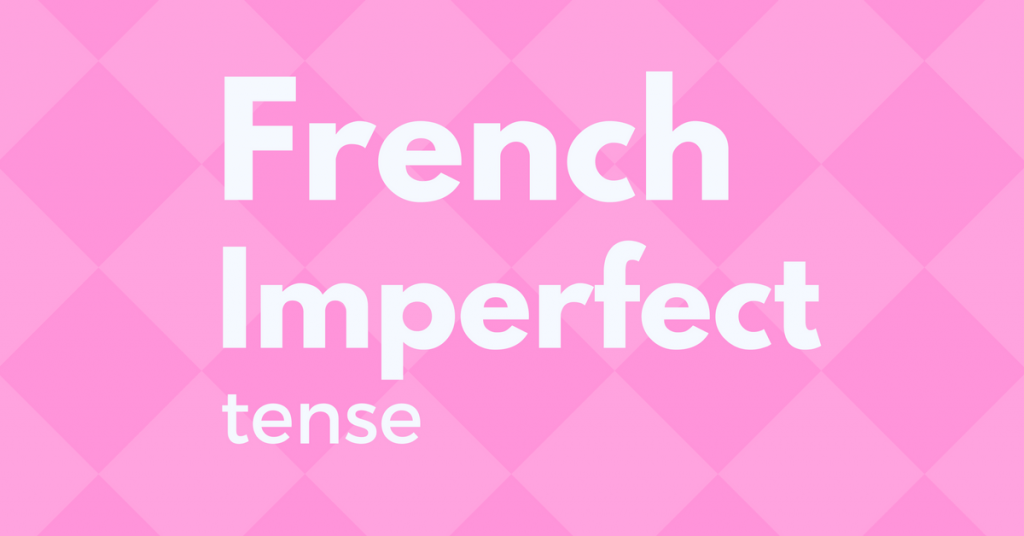 French Imperfect