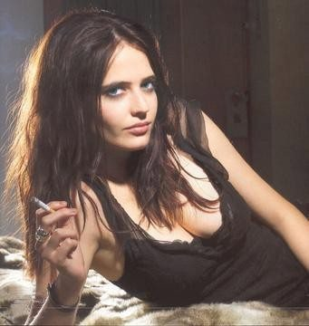 sultry Eva Green