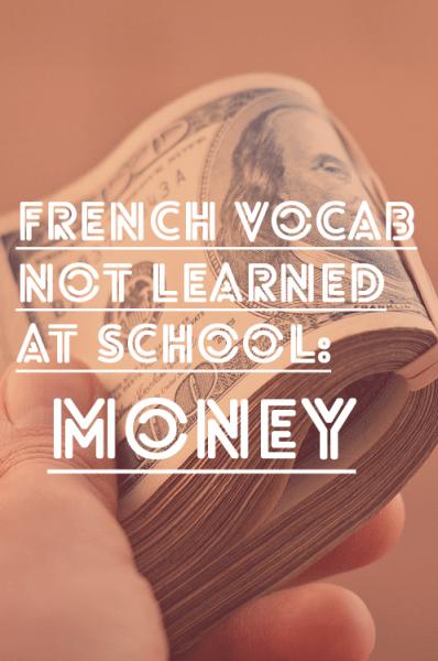 french-vocab-money