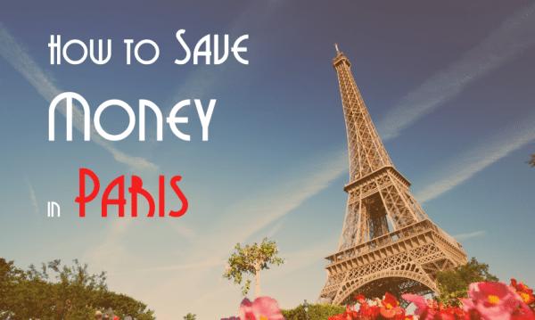 saving money paris