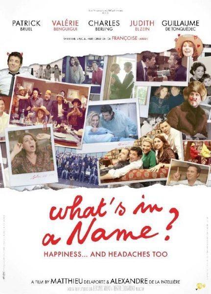 Le prénom (What's in a Name)