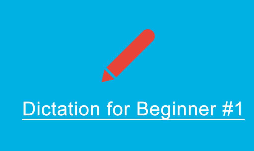 french dictation beginner