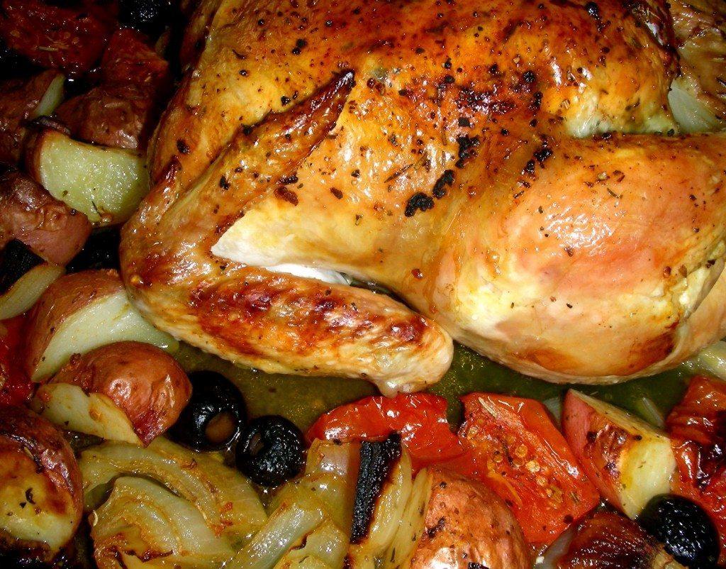 poulet a la provencale