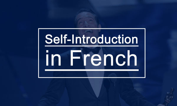 Self Introduction In French