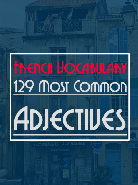 most-common-adjectives-french