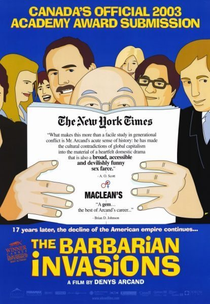 Las Invasion Barbares (The Barbarian Invasions)