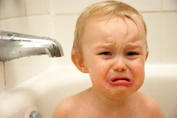 crying french baby