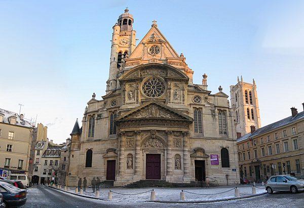 Eglise St Etienne du Mont