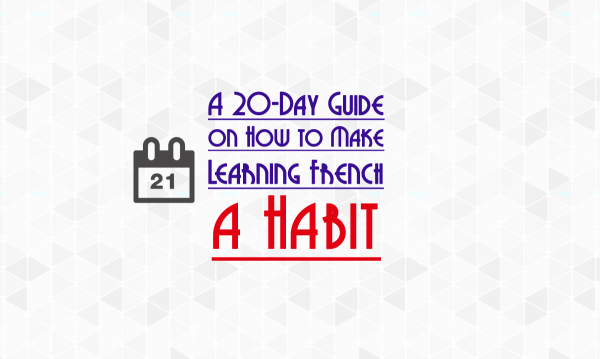 french learning habit
