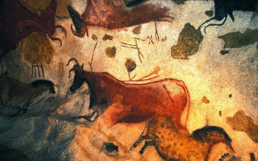 Peinture des grottes de Lascaux II, Dordogne (24).