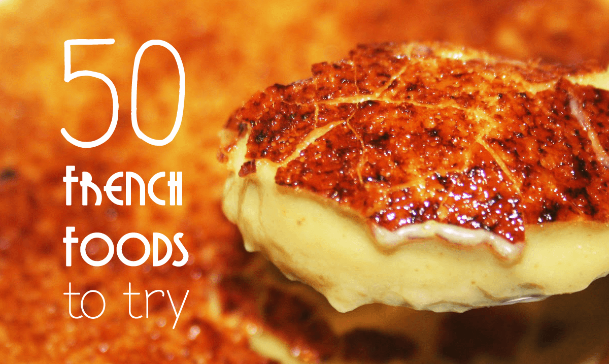 50 french foods to try