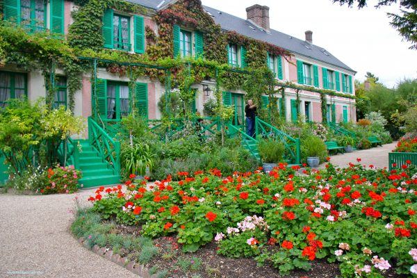 Monet's gardens in Giverny